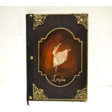 Εικόνα προϊόντος βιβλίου ευχών με χορεύτρια