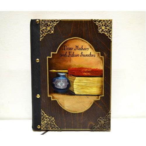 Εικόνα προϊόντος βιβλίου ευχών με βιβλίο & πένα