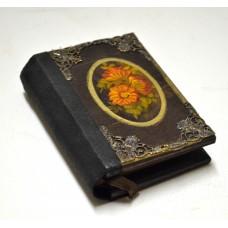 Εικόνα προϊόντος σημειωματαρίου τσέπης με λουλούδια