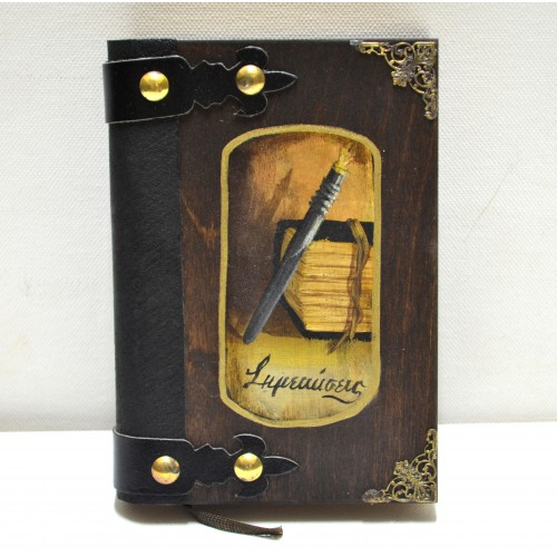 Εικόνα προϊόντος σημειωματαρίου βιβλίου με πένα