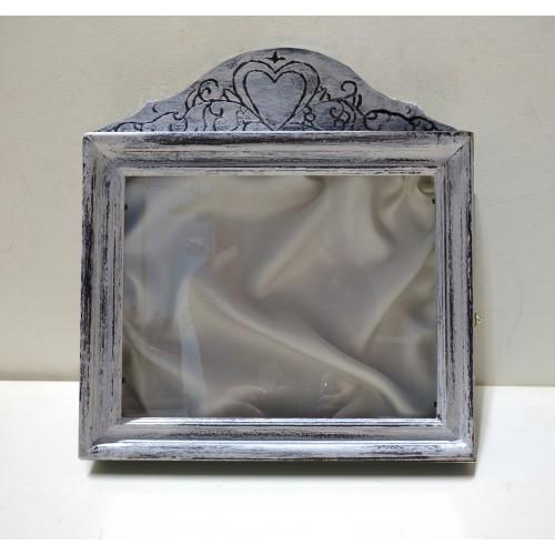 Στεφανοθήκη σκαλιστή με καρδιά εικόνα προϊόντος